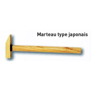 Marteau type japonais (Al-cu ou Be-cu)